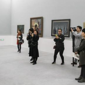 """06 Xia Xiaowan Ghost of the Wild Hills No.4 gouache 39 x 29.4 cm 1983 290x290 - Revolutionary Evolution in Rotary Way: Xia Xiaowan's Solo Exhibition """"Rotation"""" Debuted at Beijing Minsheng Art Museum"""