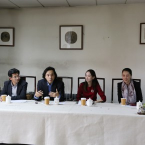 "09 Press Conference of The High School Affiliated to CAFA the First Green Apple Sketches Creation and Chinese Calligraphy Award on November 3 290x290 - ""The High School Affiliated to CAFA the First Green Apple Sketches, Creation and Chinese Calligraphy Award"" is Announced"