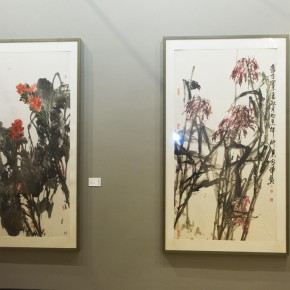 "10 Exhibition view of ""True Color of Ink Painting"""