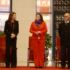 "11 The Opening Ceremony of""Botero in China"""