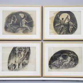 """11 Xia Xiaowan How Sad is it 200 x 180 cm 1990 290x290 - Revolutionary Evolution in Rotary Way: Xia Xiaowan's Solo Exhibition """"Rotation"""" Debuted at Beijing Minsheng Art Museum"""