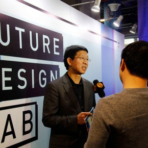 12 Dean Wang Min was interviewed by Phoenix TV 290x290 - Design, to Create the Future We Want! & the Launch Ceremony of the Future Design Lab