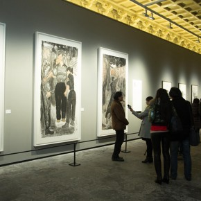 "12 Exhibition view of ""True Color of Ink Painting"""