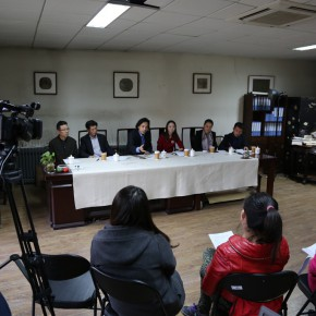 "12 Press Conference of The High School Affiliated to CAFA the First Green Apple Sketches Creation and Chinese Calligraphy Award on November 3 290x290 - ""The High School Affiliated to CAFA the First Green Apple Sketches, Creation and Chinese Calligraphy Award"" is Announced"
