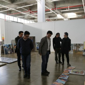 "14 Assessment of The High School Affiliated to CAFA the First Green Apple Sketches Creation and Chinese Calligraphy Award on October 28 290x290 - ""The High School Affiliated to CAFA the First Green Apple Sketches, Creation and Chinese Calligraphy Award"" is Announced"