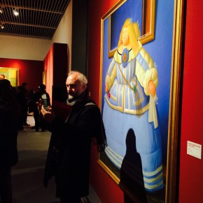 "14 Exhibition View of ""Botero in China"""