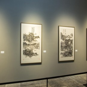 "14 Exhibition view of ""True Color of Ink Painting"""