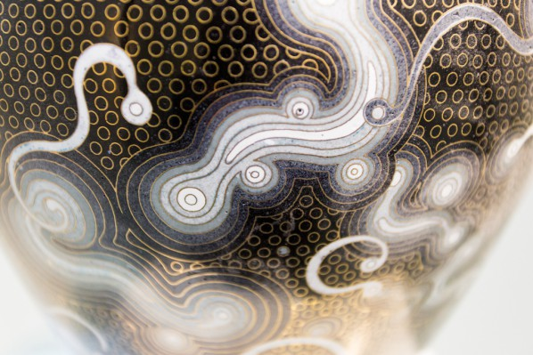 15 Chen Qi, Notations of Time-Jar, details