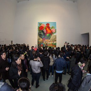 15 The Opening Ceremony 290x290 - Starting Steadily from the Last Century: Lv Shengzhong Solo Exhibition Presented at Today Art Museum