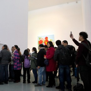 17 Audience waited for getting in the exhibition hall 290x290 - Starting Steadily from the Last Century: Lv Shengzhong Solo Exhibition Presented at Today Art Museum