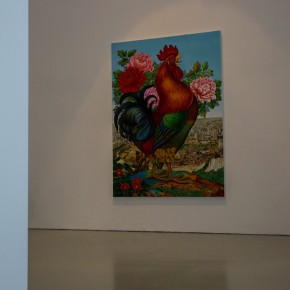 19 Lv Shengzhong Big Cock 2015 Oil painting 360cm x500cm1 290x290 - Lv Shengzhong: Adjustments on the Road We Have Trodden in the Name of the Last Century