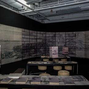 24 Lv Shengzhong, Study of Landscape, 2003; installation,  800cmx600cmx 300cm