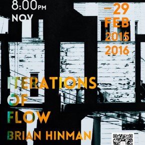 27 Poster of Brian Hinman's work exhibition 290x290 - Sishang Art Museum brought the double solo exhibitions overseas as the last exhibition of 2015