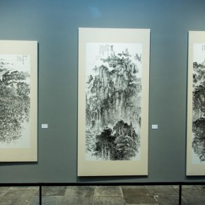 "28 Exhibition view of ""True Color of Ink Painting"""