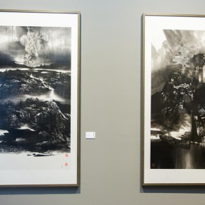 "29 Exhibition view of ""True Color of Ink Painting"""