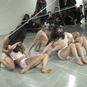 "29 The performing of modern dance 290x290 - ""The Fate of Image"": The Fourth International New Media Forum Unveiled at Sichuan Fine Arts Institute"