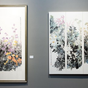 "31 Exhibition view of ""True Color of Ink Painting"""