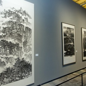 "32 Exhibition view of ""True Color of Ink Painting"""