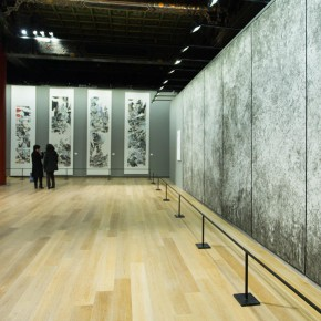"35 Exhibition view of ""True Color of Ink Painting"""