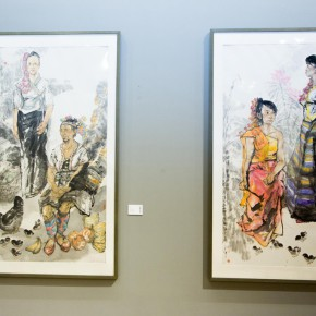 "37 Exhibition view of ""True Color of Ink Painting"""