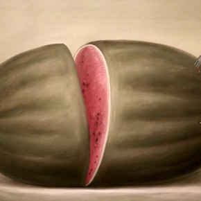 Fernando Botero, Watermelon, 1976; Oil on canvas, 133x174cm
