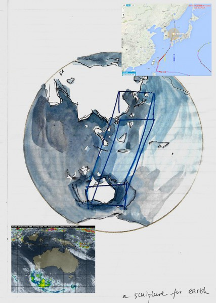 Liao Fei, The Draft of A Sculpture of the Earth