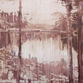 """Lv Song Young Thoreau 2015 Oil on canvas 130x210cm 290x290 - James Cohan Gallery presents """"In Memory of a Landscape II: Lv Song, Wei Jia and Xie Fan"""""""