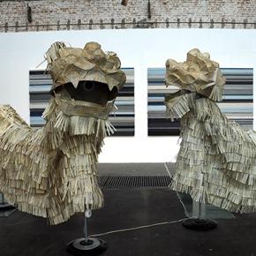 """Plastic Garden: CHINESE & KOREAN CONTEMPORARY ART"" Exhibiting  at 798 Art Factory"