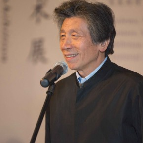 01 Fan Dian President of the China Central Academy of Fine Arts and Deputy Chairman of Chinese Artists Association addressed the opening 290x290 - Mentality: Wang Shaojun Art Exhibition was unveiled at CAFA Art Museum