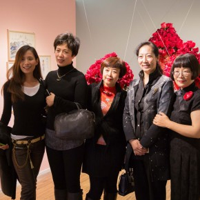 01 Group Photo of Honored Guests 290x290 - In the Mood for Love – the Exhibition of Female Artists' Growth in Art Forms is unveiled at the Gauguin Gallery at Wangjing SOHO