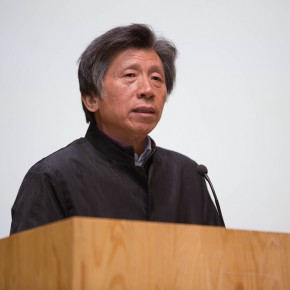 """01 President of CAFA Fan Di'an addressed the opening ceremony 290x290 - """"Starting, Inheriting, Innovation and Integration"""" For Chinese Painting (Round II) Exhibition opened at CAFA Art Museum"""