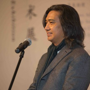 02 Director of the National Art Museum of China Wu Weishan spoke at the opening 290x290 - Mentality: Wang Shaojun Art Exhibition was unveiled at CAFA Art Museum