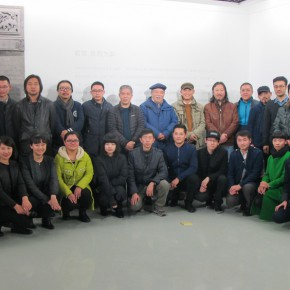 """02 Opening ceremony of """"Collective with Individual – Youth New Ink Painting Nominated Exhibition""""  290x290 - Young Painters """"Spiral"""" """"Winning"""": """"Collective with Individual – Youth New Ink Painting Nominated Exhibition"""" Debuted"""