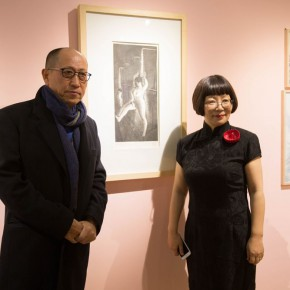 03 Group Photo of Honored Guests 290x290 - In the Mood for Love – the Exhibition of Female Artists' Growth in Art Forms is unveiled at the Gauguin Gallery at Wangjing SOHO
