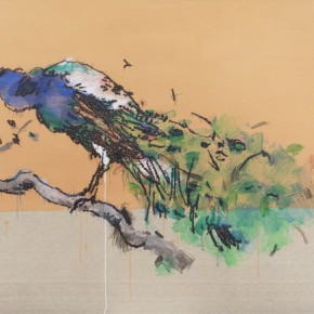 04 Ye Yongqing Peacock 2015 Acrylic on Canvas 150x200cm  290x290 - Gilded Age – The Wanderings of Ye Yongqing to be Presented at Asia Art Center