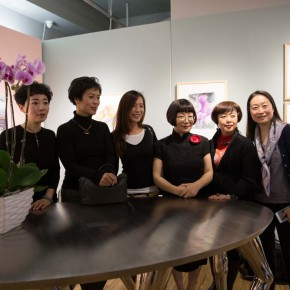 05 Group Photo of Honored Guests 290x290 - In the Mood for Love – the Exhibition of Female Artists' Growth in Art Forms is unveiled at the Gauguin Gallery at Wangjing SOHO