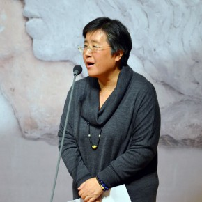 06 Host of the opening ceremony Vice President of National Art Museum of China An Yuanyuan