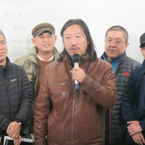 """06 Opening ceremony of """"Collective with Individual – Youth New Ink Painting Nominated Exhibition""""  290x290 - Young Painters """"Spiral"""" """"Winning"""": """"Collective with Individual – Youth New Ink Painting Nominated Exhibition"""" Debuted"""