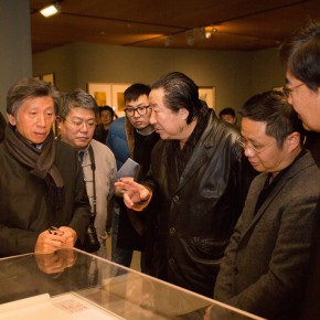 """08 View of the opening ceremony of """"For Chinese Painting Round II"""" 290x290 - """"Starting, Inheriting, Innovation and Integration"""" For Chinese Painting (Round II) Exhibition opened at CAFA Art Museum"""