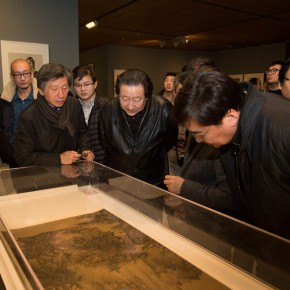 """09 View of the opening ceremony of """"For Chinese Painting Round II"""" 290x290 - """"Starting, Inheriting, Innovation and Integration"""" For Chinese Painting (Round II) Exhibition opened at CAFA Art Museum"""