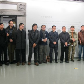 """10 Opening ceremony of """"Collective with Individual – Youth New Ink Painting Nominated Exhibition""""  290x290 - Young Painters """"Spiral"""" """"Winning"""": """"Collective with Individual – Youth New Ink Painting Nominated Exhibition"""" Debuted"""