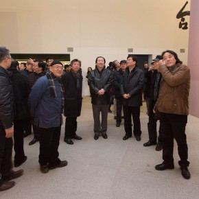 """10 View of the opening ceremony of """"For Chinese Painting Round II"""" 290x290 - """"Starting, Inheriting, Innovation and Integration"""" For Chinese Painting (Round II) Exhibition opened at CAFA Art Museum"""