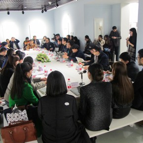 """12 View of the discussion  290x290 - Young Painters """"Spiral"""" """"Winning"""": """"Collective with Individual – Youth New Ink Painting Nominated Exhibition"""" Debuted"""