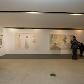 """13 Exhibition view of """"For Chinese Painting Round II""""  290x290 - """"Starting, Inheriting, Innovation and Integration"""" For Chinese Painting (Round II) Exhibition opened at CAFA Art Museum"""