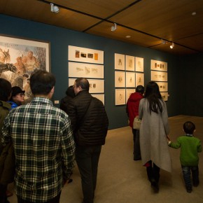 """15 Exhibition view of """"For Chinese Painting Round II""""  290x290 - """"Starting, Inheriting, Innovation and Integration"""" For Chinese Painting (Round II) Exhibition opened at CAFA Art Museum"""