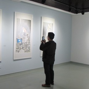 """16 Exhibition view of """"Collective with Individual – Youth New Ink Painting Nominated Exhibition""""  290x290 - Young Painters """"Spiral"""" """"Winning"""": """"Collective with Individual – Youth New Ink Painting Nominated Exhibition"""" Debuted"""