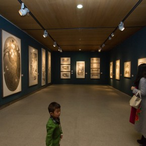 """18 Exhibition view of """"For Chinese Painting Round II""""  290x290 - """"Starting, Inheriting, Innovation and Integration"""" For Chinese Painting (Round II) Exhibition opened at CAFA Art Museum"""