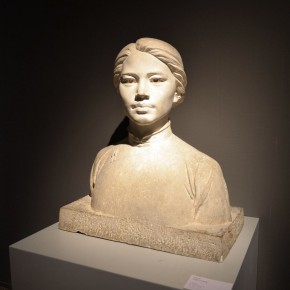 18 Exhibition view of Sculpture of Love - Memorial Exhibition of Works and Literature of the Couple Sculptors Wang Linyi and Wang Henei