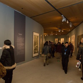 """20 Exhibition view of """"For Chinese Painting Round II""""  290x290 - """"Starting, Inheriting, Innovation and Integration"""" For Chinese Painting (Round II) Exhibition opened at CAFA Art Museum"""