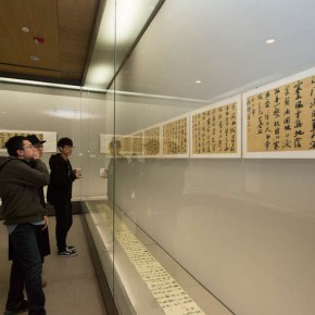 """23 Exhibition view of """"For Chinese Painting Round II""""  290x290 - """"Starting, Inheriting, Innovation and Integration"""" For Chinese Painting (Round II) Exhibition opened at CAFA Art Museum"""